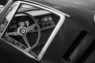 1967 Ferrari 275 Gtb-4 Berlinetta Steering Wheel Poster by Jill Reger