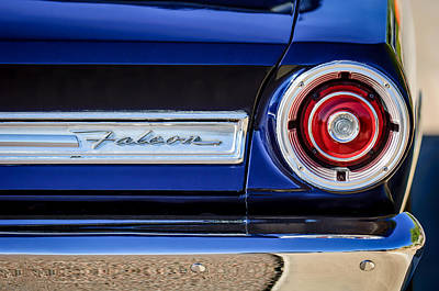 1967 Ford Falcon Taillight Emblem -473c Poster by Jill Reger