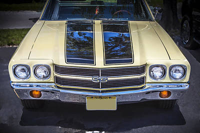 1970 Chevrolet Chevelle Ss Poster by Rich Franco