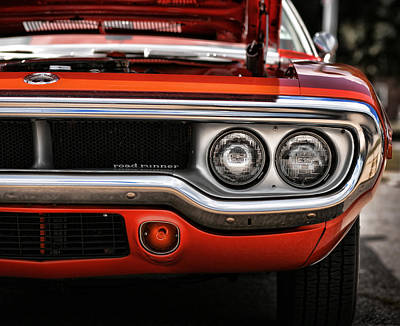 1972 Plymouth Road Runner Poster by Gordon Dean II