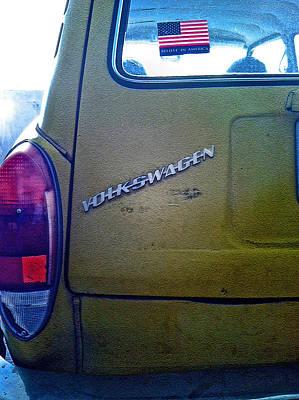 1972 Volkswagen Squareback Poster by Bill Owen