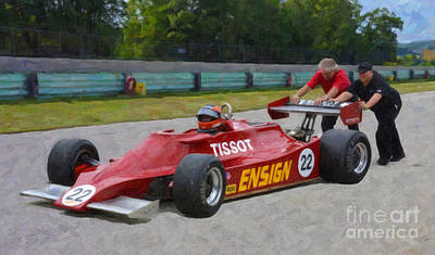 1979 Ensign N179 Formula One Poster by Tad Gage