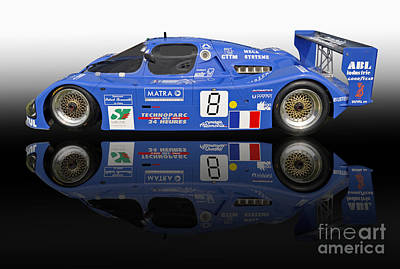 1983 Sauber C6 Race Car Poster by Tad Gage