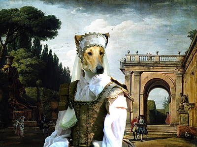 Collie Smooth - Smooth Collie Art Canvas Print Poster by Sandra Sij