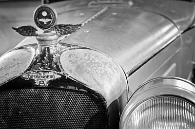 1926 Duesenberg Model A Boyce Motometer - Hood Ornament Poster by Jill Reger