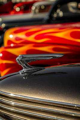 1939 Graham Coupe Hood Ornament Poster by Ron Pate