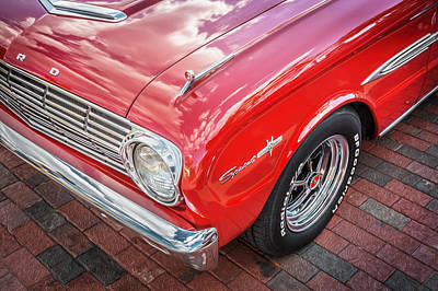 1963 Ford Falcon Sprint Convertible  Poster by Rich Franco