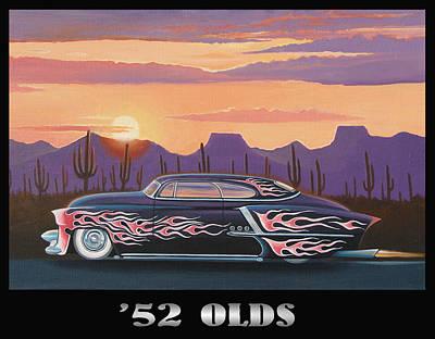 '52 Olds Poster by Stuart Swartz