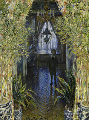 A Corner Of The Apartment Poster by Claude Monet