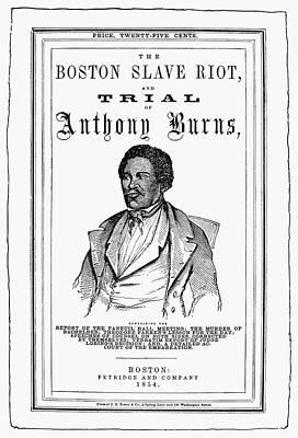 Anthony Burns (1834-1862) Poster by Granger