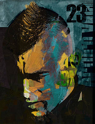 Arturo Vidal Poster by Corporate Art Task Force
