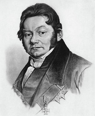 Baron J�ns Jakob Berzelius (1779-1848) Poster by Granger