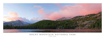 Bear Lake Rocky Mountain National Park Poster by Posters of Colorado