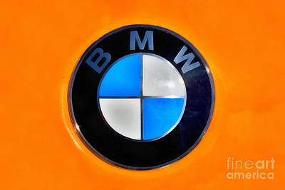 Bmw Badge Poster by George Atsametakis