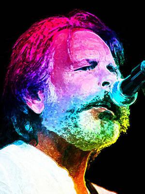 Bob Weir Poster by Julie Turner