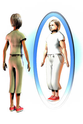 Body Dysmorphia Poster by Carol & Mike Werner