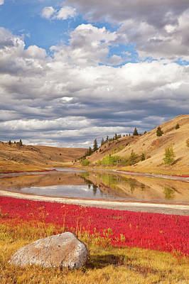 Canada, British Columbia, Kamloops, Lac Poster by Jaynes Gallery