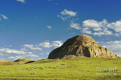 Castle Butte Poster by Charline Xia