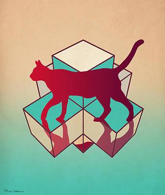cat Poster by Mark Ashkenazi