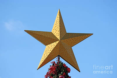 Christmas Star Poster by George Atsametakis