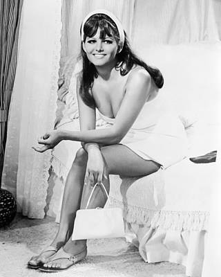 Claudia Cardinale Poster by Silver Screen