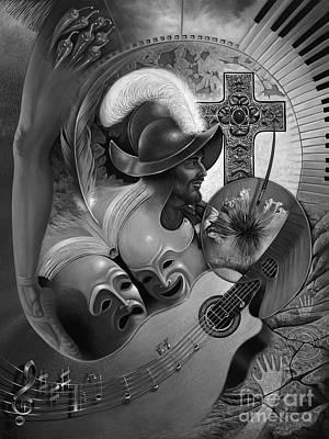 Color Y Cultura Poster by Ricardo Chavez-Mendez