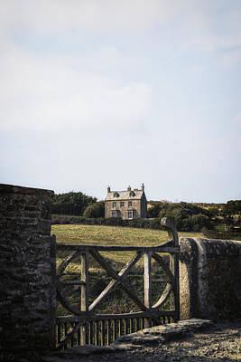 Cornish Cottage Poster by Joana Kruse