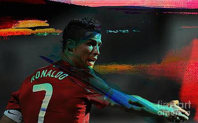 Cristiano Ronaldo Poster by Marvin Blaine