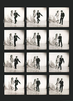 Dancing The Twist Poster by Underwood Archives