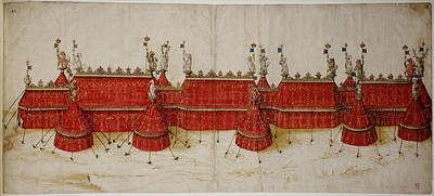 Design For A Royal Pavilion Poster by British Library