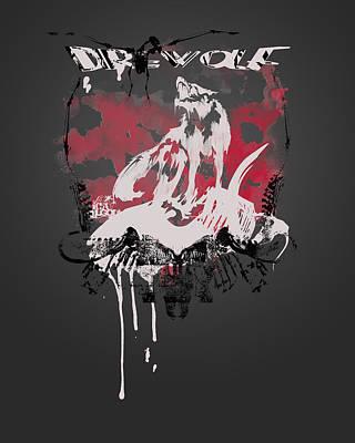 Dire Wolf Poster by Pop Culture Prophet