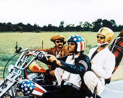 Easy Rider  Poster by Silver Screen