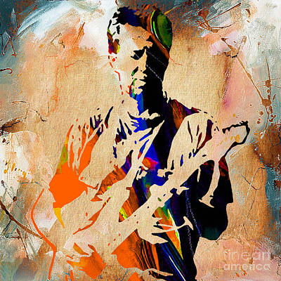 Eric Clapton Collection Poster by Marvin Blaine