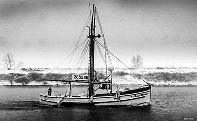Fishing Vessel Rose Marie Poster by Paul Haist