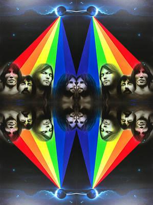 Pink Floyd - 'floyd' Poster by Christian Chapman Art