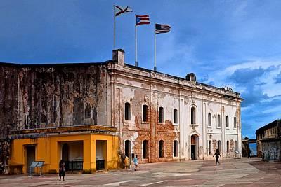 Fort San Cristobal 3 Poster by Ricardo J Ruiz de Porras