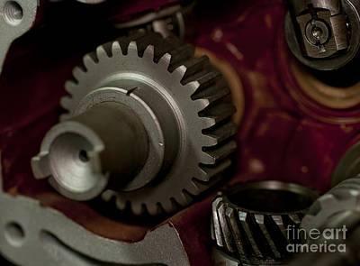 Gears  Poster by Wilma  Birdwell
