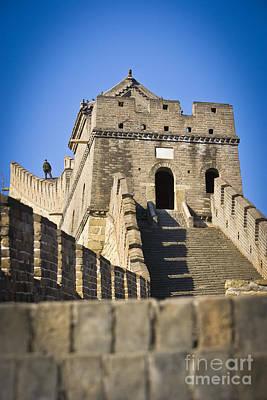 Great Wall Poster by Juan  Silva