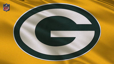 Green Bay Packers Uniform Poster by Joe Hamilton