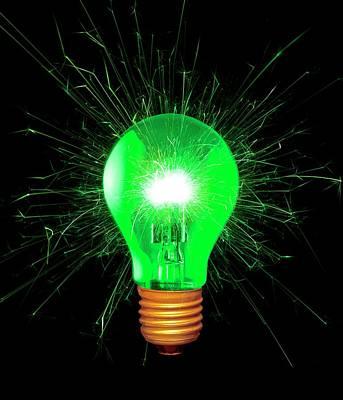 Green Energy Poster by Victor De Schwanberg