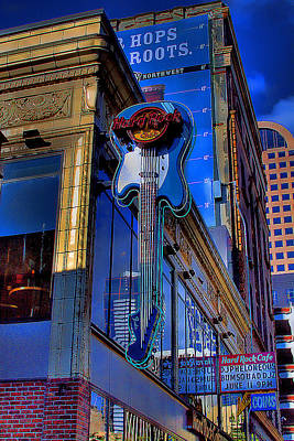 Hard Rock Cafe - Seattle Poster by David Patterson