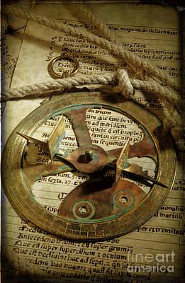 .historical Navigation Poster by Bernard Jaubert