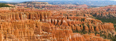 Hoodoo Rock Formations In A Canyon Poster by Panoramic Images