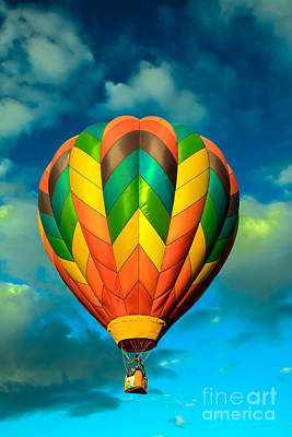 Hot Air Balloon Poster by Robert Bales
