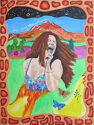Janis Joplin  Poster by Jeepee Aero