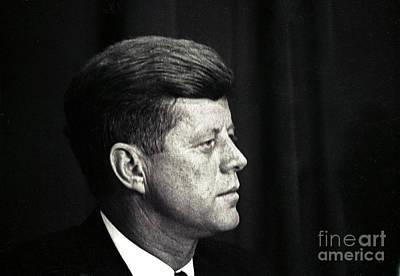 John F. Kennedy, 1963 Poster by Larry Mulvehill