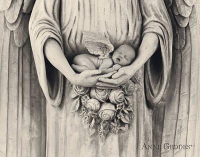 Jonti As An Angel Poster by Anne Geddes