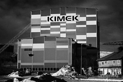 Kimex Shipyard Dry Dock Building Kirkenes Finnmark Norway Europe Poster by Joe Fox