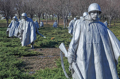 Korean War Memorial Poster by Brandon Bourdages