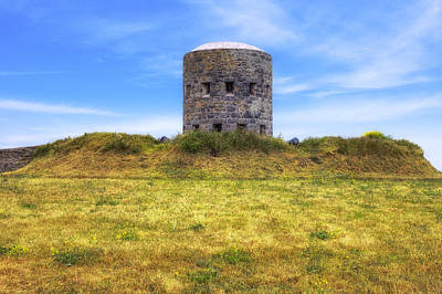 La Rousse Tower - Guernsey Poster by Joana Kruse
